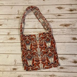 Free People Reusable Fabric Shopping Tote Bag